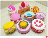 Sortierte Kuchen PU-Schaumgummi-Squishy langsame steigende Spielwaren