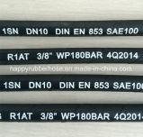 R1/1sn 1개의 층 철강선 땋는 고압 고무 관