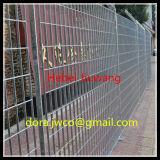 ISO9001 de malla de alambre galvanizado en caliente rallar valla