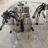 Electric Milker cucharas de doble bomba de vacío automática máquina de ordeño
