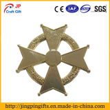 Distintivo in lega di zinco personalizzato del metallo di alta qualità da vendere