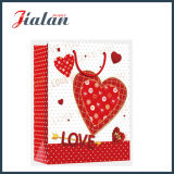 Оптовые подарки дня Valentine промотирования пакуя мешок несущей покупкы бумажный