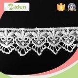 Lacet hydrosoluble d'habillement de lacets de crâne décoratif de tissu