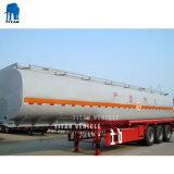 Большое количество масла Цистерны жидкого танкер с прицепа 3 мост для продажи