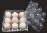 2/4/6/8/10/12/15/18/24/30の穴の使い捨て可能なプラスチックは卵を投げつける皿(PVC卵の容器)に