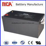 Batería recargable UPS AGM inversor solar 12 V 150Ah batería de plomo