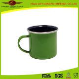Populäres Green Enamel Mug mit Enamel Hand
