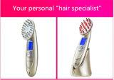Consumo de raios infravermelhos massagem vibratória Pente Laser Eléctrico de aço inoxidável para o crescimento do pêlo
