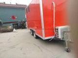 Reboque móvel de abastecimento do alimento do caminhão do alimento da rua da cozinha do carro da alfândega