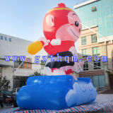 Oxford chiffon modèle singe gonflable Cartoon
