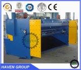 Машина гидровлической гильотины QC11Y-16X4000 режа, автомат для резки стальной плиты