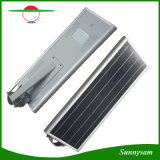 Bluetooth APP Control를 가진 태양 Light 5 Years Warranty Energy Saving Outdoor 60W LED Integrated Solar Street Light