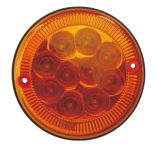"El LED 4 ronda"" deje de girar la luz trasera TL393"