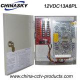Distribuzione di corrente elettrica della macchina fotografica del fornitore 12V 156W 8CH di potere (12VDC13A8PL)
