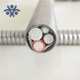 Fabricant d'alimentation électrique monobrins ou multibrins de câble en cuivre AWG UL1569 10/2 10/3 600V