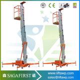 8m Leichtgewichtler-Aluminiumaufzug-Plattform