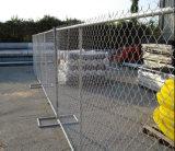 Lo standard 6FT*10FT degli S.U.A. ha galvanizzato la rete fissa provvisoria di collegamento Chain della costruzione