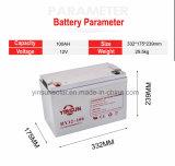 高性能12V 100ahの鉛の酸の太陽ゲル電池