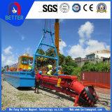 Утвержденном Ce 17м дренажных глубина фрезы Dredger всасывания для речных/воды/морской промышленности