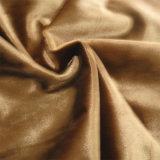 100 % de la plaine de tricotage de tissu lumineux /tissu ordinaire pour l'arrière collés