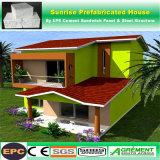 Het de geprefabriceerde/Prefab Modulaire Bouw van de Structuur van het Staal/Sta-caravan/Huis van de Container