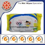 Toalhetes orgânicos para bebês limpeza de mão toalhetes molhados