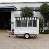 軽食コーヒーおよびフルーツのためのファースト・フードのトラックを食事する中国の低価格の可動装置
