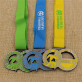 Kundenspezifisches Metal School Karate Swim Run 10k Marathon Sport Medal