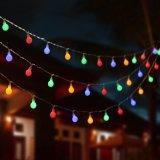 [10م] 100 [لدس] عيد ميلاد المسيح [رغب] كرة أرضيّة خيط ضوء