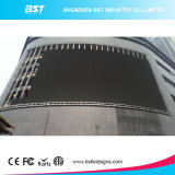 Commercial AdertisingのためのEvergy Saving P6 SMD Outdoor Full Color Curved LED Video Wall