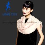 Bufanda de seda del algodón colorido del satén para señora Woman
