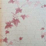 Carta da parati astratta di colore rosa personalizzata fornitore di prezzi non Xerox della Cina
