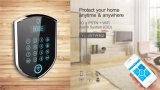 Кнопочная панель 2016 касания управлением APP беспроволочный GSM SMS самонаводит аварийная система обеспеченностью дома