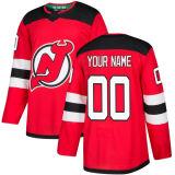 2018 Nova Marca Homens Mulheres Kid New Jersey Devils 9 Taylor Hall 35 Cory Schneider 11 Brian Boyle Travis Zajac qualquer Nome Personalizado Vermelho & N. Hockey camisolas
