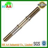 Eixo de alta precisão de usinagem CNC, eixo de transmissão de aço inoxidável para peças de motor / peças de motocicleta