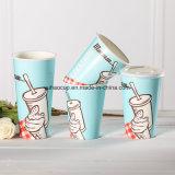12oz sondern Wand-Papier-Milchshake-kaltes trinkendes Cup aus