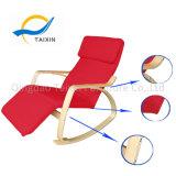 Moderno mobiliário Bendwood confortável cadeira de balanço