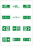 Matériau du corps ABS 2.5W LED UL Running Man Exit Signs for North American Market