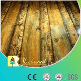 étage en stratifié résistant de l'eau d'hickory de texture de fibre de bois de 12.3mm