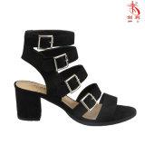 2018 Hot-Sale Mesdames sexy femmes chaussures sandales avec Open Toe (HSA2018006)