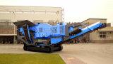 Chinesische führende mobile Spur-Kiefer-Zerkleinerungsmaschine für Verkauf