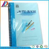 Kundenspezifische gebundene Ausgabe Belüftung-Schule-gewundenes Notizbuch