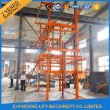 Table élévatrice hydraulique électrique d'entrepôt portatif de la Chine à vendre