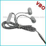 Fone de ouvido de metal de alta qualidade, fone de ouvido de telefone móvel, fone de ouvido com microfone