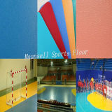 China Facroty Venda Pisos desportivos de PVC para voleibol / handebol