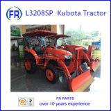 高品質L3208 Kubotaのトラクター4WD