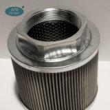 El depósito hidráulico de aspiración de elemento de filtro de aceite de Wu-63X100j