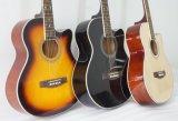 Гитара Om тела Lindenwood цвета 40 дюймов акустическая