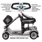Vespa de cuatro ruedas barato eléctrica de la movilidad de la alta calidad para lisiado y los ancianos