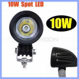 10W CREE LED Flut des Auto-Nebel-Kopf-Arbeits-Licht-IP67 6500k/Punkt 800lm für weg von Straße 4X4 (CK-WC0110R)